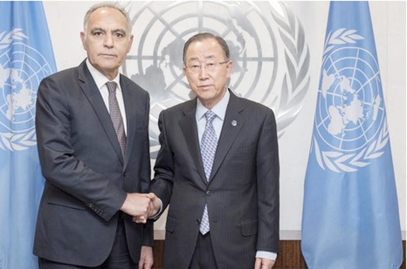 صورة بان كيمون يعتذر للمغرب والناطق الرسمي للأمم المتحدة يعتبر الأمر مجرد سوء فهم