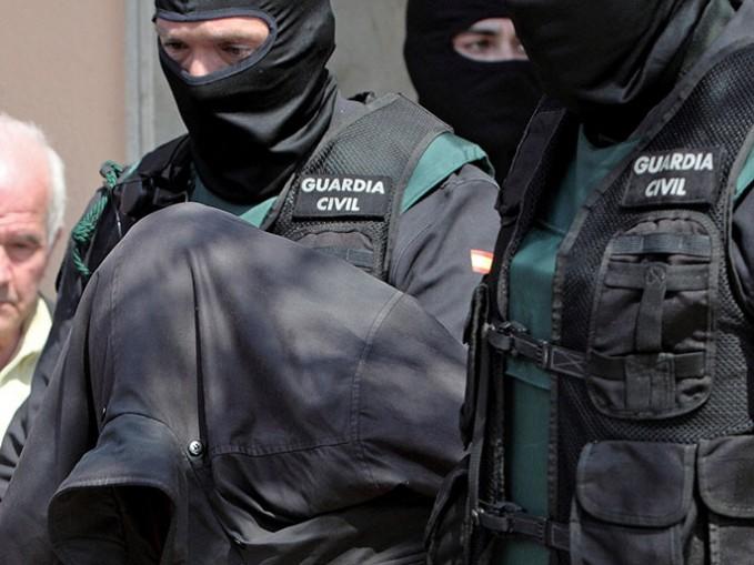 صورة توقيف مغربي مرتبط بتنظيم الدولة الاسلامية في اسبانيا