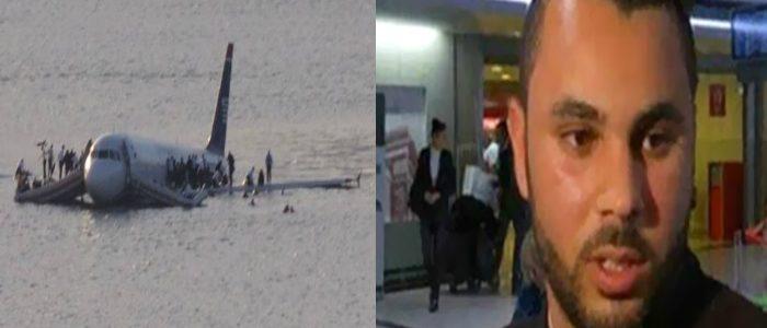 صورة الناجي الوحيد من الطائرة المصرية المنكوبة يروي ما حدث معه في مطار شارل ديغول