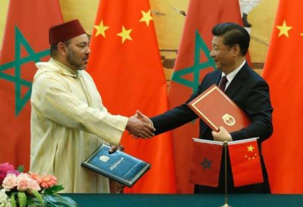 صورة الشراكة الإستراتيجية المغربية الصينية  تمثل خارطة طريق، وتوجه ورؤية مشتركة للارتقاء بالعلاقات الثنائية