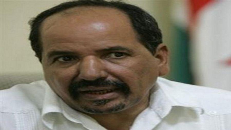 صورة الأمين العام لجبهة البوليساريو محمد عبد العزيز في ذمّة الله