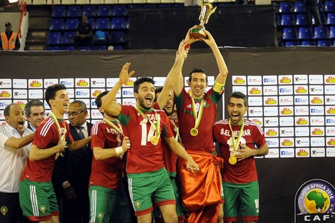 صورة قرعة كأس العالم للفوتسال تضع المغرب مع إسبانيا
