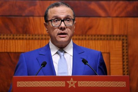 """صورة وزير الاقتصاد والمالية المغربي محمد بوسعيد يؤكّد بأن الأبناك التشاركيّة """"الأبناك الإسلامية"""" ستخرج إلى الوجود خلال هذه السّنة"""