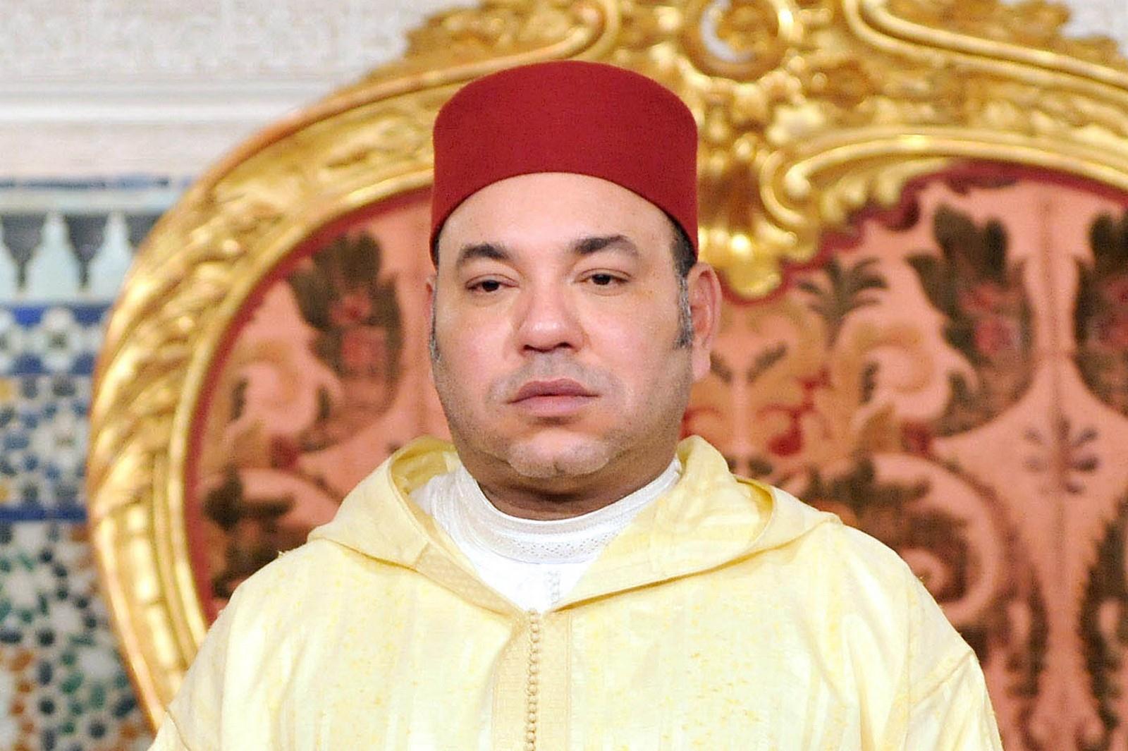 صورة خطاب محمد السادس نصره الله  بمناسبة الذكرى 17 لعيد العرش المجيد