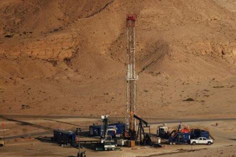 """صورة اكتشاف كميات كبيرة من الغاز""""بتاندرارة """" التابعة لفكيك"""