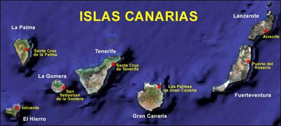 صورة جزر الكناري  Islas Canarias