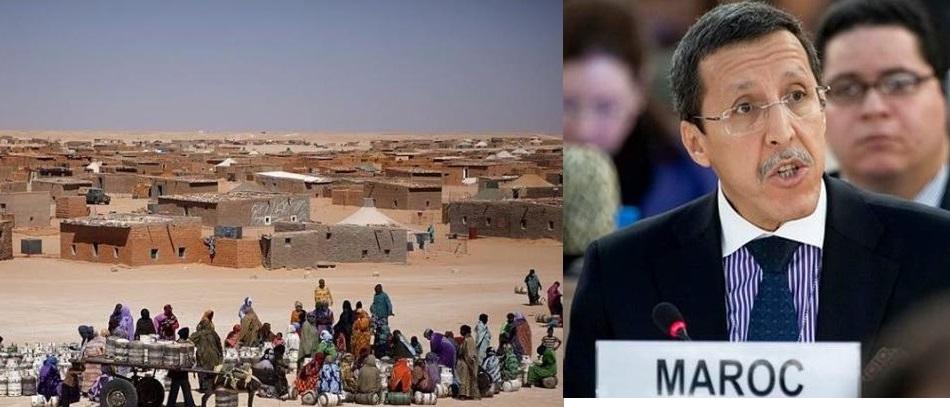 صورة المغرب يتحدى حكام  الجزائر بأن تثبت وجود أكثر من 30 ألف شخص بمخيمات تندوف