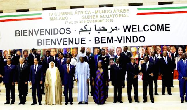 صورة إقحام الكيان الوهمي  البوليساريو في الدورة الرابعة   للقمة العربية الافريقية الهدف منها التشويش على أجواء استرجاع الرباط مقعدها القاري الشاغر