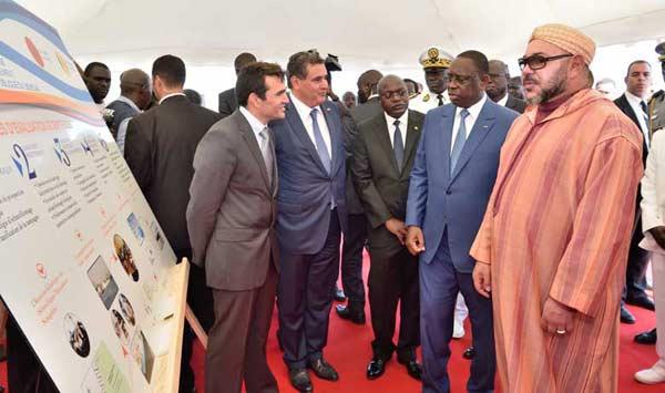 صورة جلالة الملك والرئيس السنغالي يترأسان حفل إطلاق شراكة لمواكبة الفلاحة الصغرى والوسط القروي بالسنغال