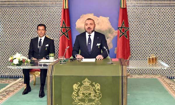 صورة النص الكامل لخطاب صاحب الجلالة الملك محمد السادس من دكار بمناسبة الذكرى 41 للمسيرة الخضراء