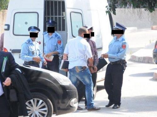 صورة توقيف ضابط شرطة بالبيضاء سرق أكثر من 12 ألف درهم من تجار مخدرات
