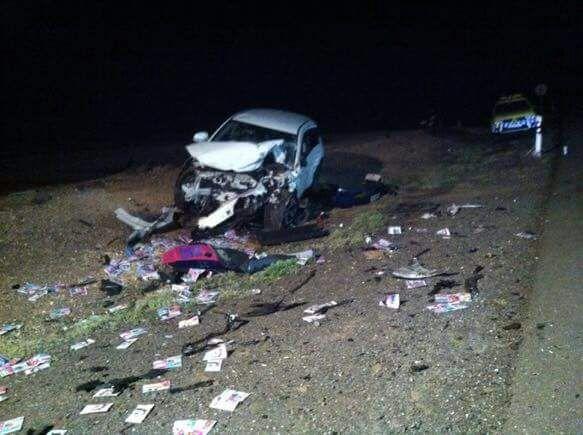 صورة حادثة سير مميتة بجزر الكناري
