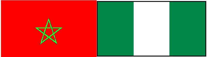 صورة رفع العلم المغربي وتنكيس راية البوليساريو في نيجيريا  + فيديو